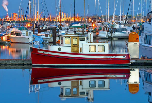 Anacortes Poster featuring the photograph Nordic Tug by Mark Kiver