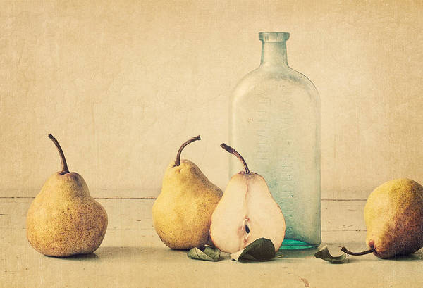 Pear Poster featuring the photograph Quartet by Amy Weiss