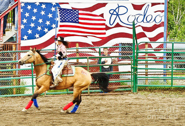 Photography Poster featuring the photograph Rodeo by Terry Cotton