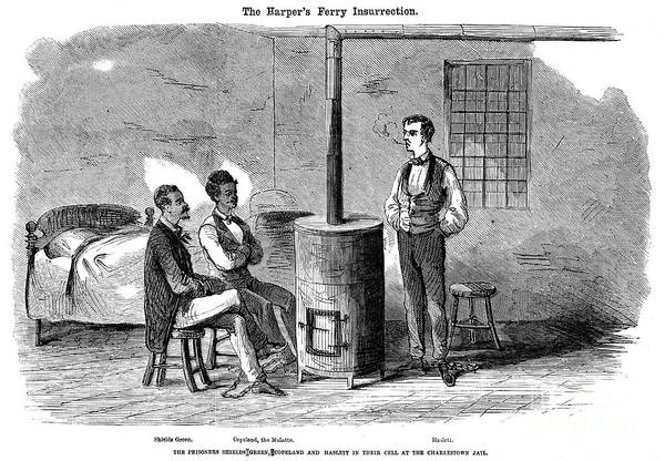 1859 Poster featuring the photograph John Brown Raid, 1859 by Granger