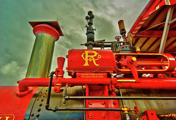 Machinery Poster featuring the photograph Farm Ready by Dale Stillman