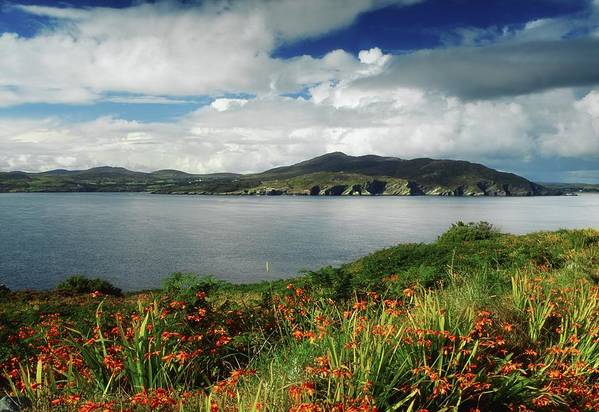 Cloud Poster featuring the photograph Inishowen Peninsula, Co Donegal by The Irish Image Collection