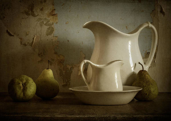 Pear Poster featuring the photograph A Simpler Time by Amy Weiss
