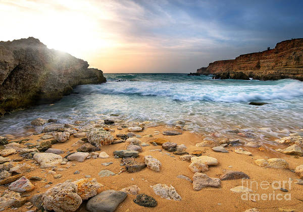 Beautiful Poster featuring the photograph Beautiful Sea Stones by Boon Mee