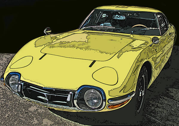Toyota 2000 Gt Poster featuring the photograph Toyota 2000 Gt by Samuel Sheats