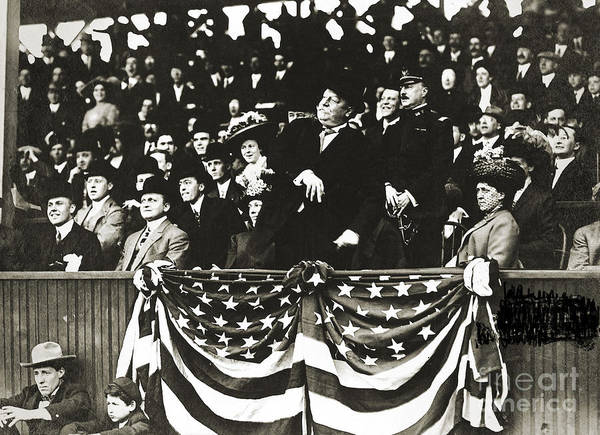 1910 Poster featuring the photograph William Howard Taft by Granger