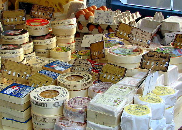 Cheese Poster featuring the photograph Cheese For Sale by Carla Parris