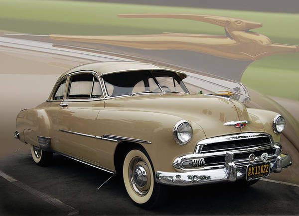51 Poster featuring the photograph 51 Chevrolet Deluxe by Bill Dutting