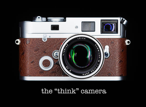 Leica Poster featuring the photograph Leica M7 by Dave Bowman