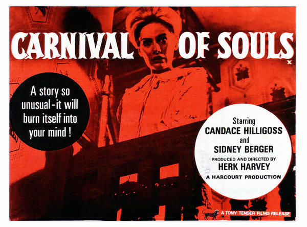 1960s Portraits Poster featuring the photograph Carnival Of Souls, British Quad Poster by Everett
