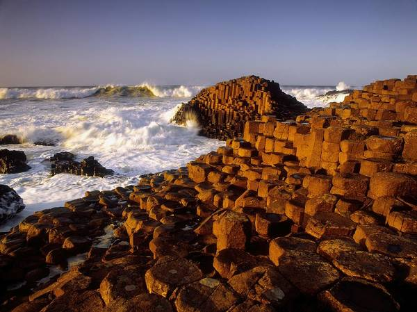 Sea Poster featuring the photograph Giants Causeway, County Antrim, Ireland by The Irish Image Collection