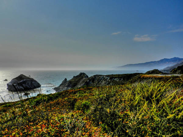 Big Sur California Poster featuring the photograph California - Big Sur 003 by Lance Vaughn