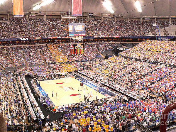 College Basketball Poster featuring the photograph Final Four by David Bearden