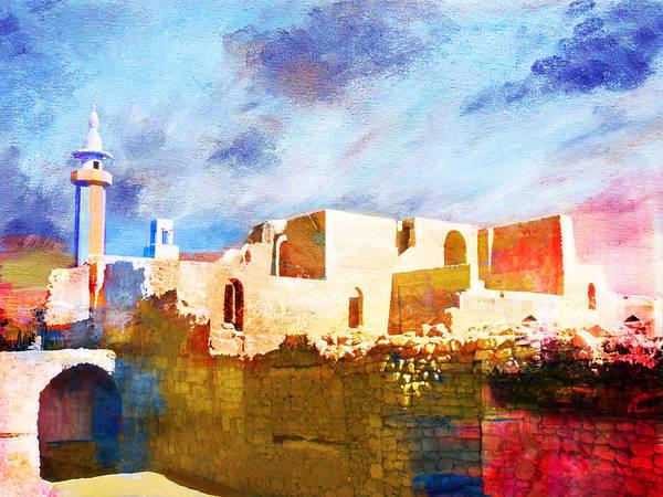 Petraquseir Amraum Er-rasas (kastrom Mefa'a)wadi Rum Protected Area Moroccomedina Of Fezmedina Of Marrakeshksar Of Ait-ben-haddouhistoric City Of Meknesarchaeological Site Of Volubilismedina Of Tétouan (formerly Known As Titawin)medina Of Essaouira (formerly Mogador)portuguese City Of Mazagan (el Jadida)rabat Poster featuring the painting Jordan 02 by Catf