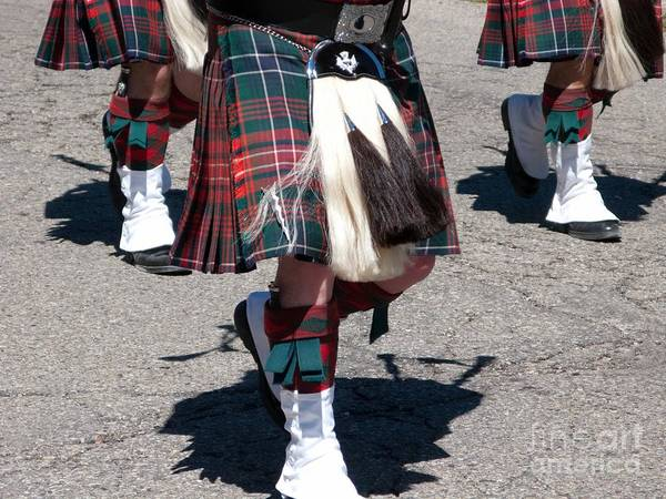 Kilts Poster featuring the photograph Kilts On Parade by Ann Horn