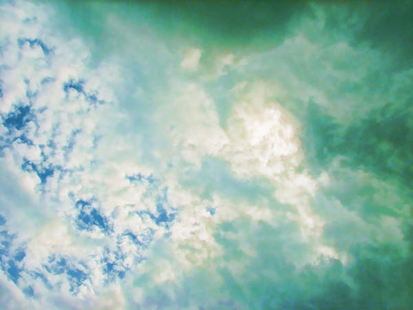 Cloud Poster featuring the digital art Layers by Wendy J St Christopher