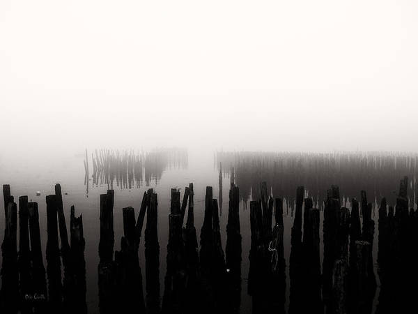 Seascape Poster featuring the photograph Memories And Fog by Bob Orsillo