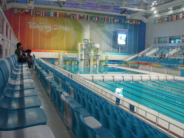 Olympic Swimming Pool Poster