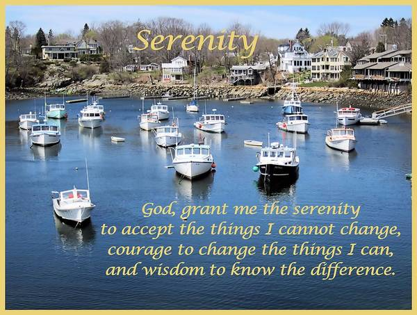 Perkins Cove Poster featuring the photograph Perkins Cove Serenity by Patricia Urato