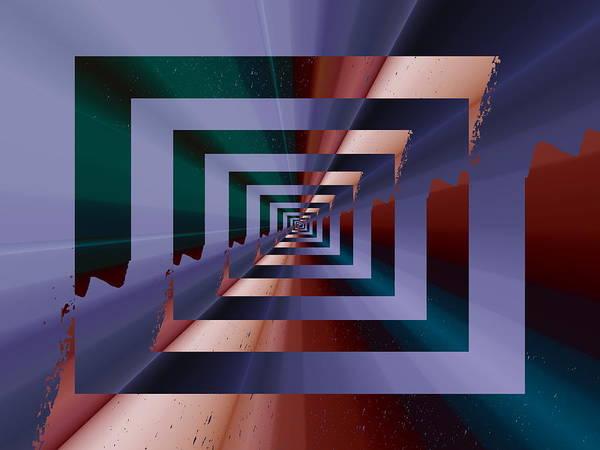 Quantum Poster featuring the digital art Quantum Conundrum by Tim Allen