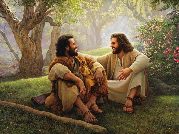 Jesus Poster featuring the painting The Way Of Joy by Greg Olsen