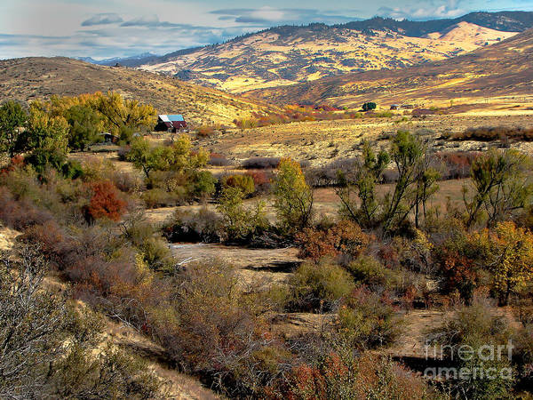 Landsacape Poster featuring the photograph Valley View by Robert Bales