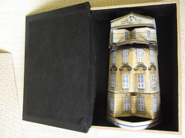 Paper Art Poster featuring the sculpture A Book Holds A House Of Gold by Alfred Ng