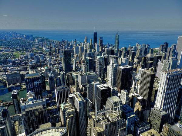 Chicago Poster featuring the photograph Chicago Tm 022 by Lance Vaughn