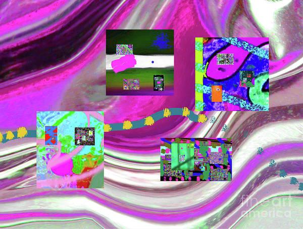 Walter Paul Bebirian Poster featuring the digital art 5-3-2015eabcdefghijklmnopqrtuvwxyzabcdefghijklm by Walter Paul Bebirian