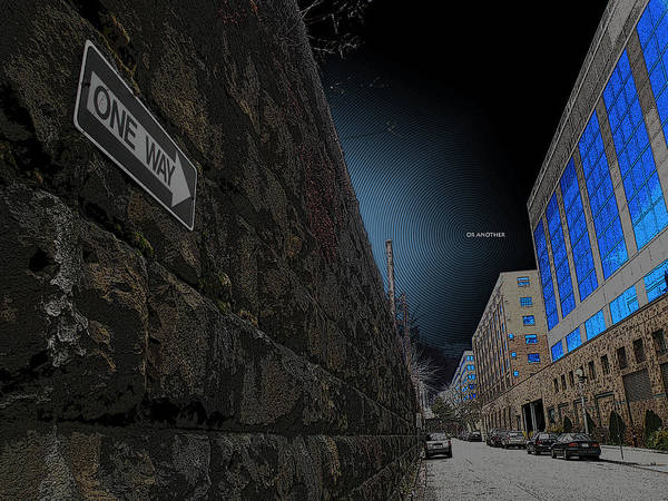 One Way Or Another Poster featuring the photograph One Way Or Another by Joe Hickson