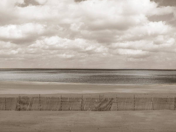Ocean Poster featuring the photograph The Perfect Sky Is Torn by Dana DiPasquale