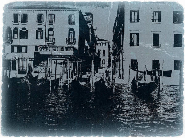 Venice Poster featuring the photograph Venice by Naxart Studio