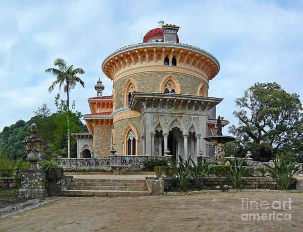 Palace Poster featuring the photograph Monserrate Palace by Jose Elias - Sofia Pereira