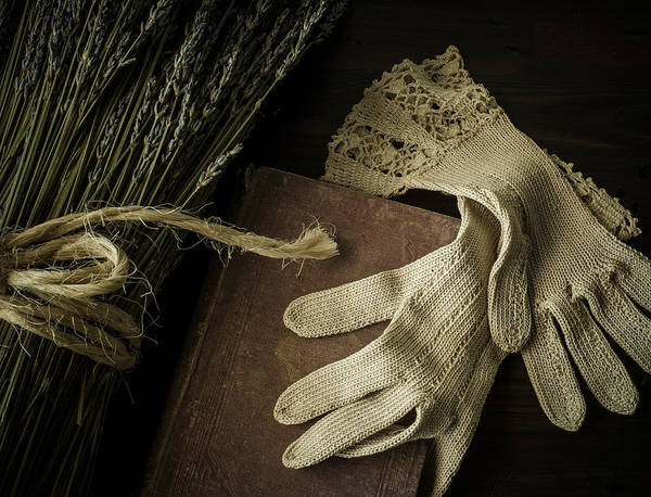 Glove Poster featuring the photograph A Woman's Touch by Amy Weiss