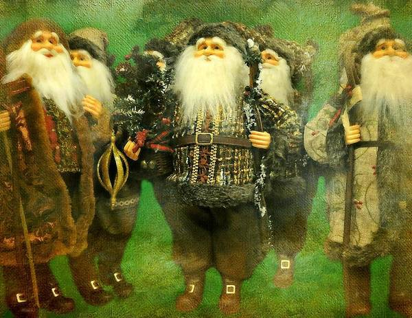 Elves Poster featuring the photograph God Rest Ye Merry Gentlemen by Diana Angstadt