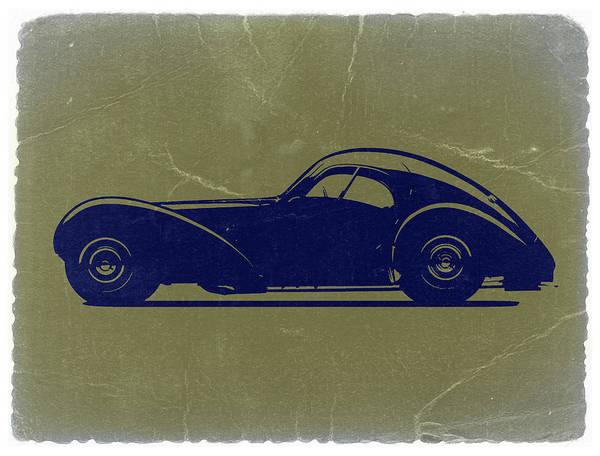 Poster featuring the photograph Bugatti 57 S Atlantic by Naxart Studio