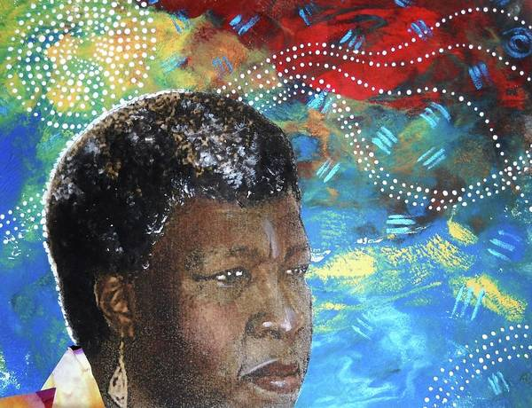 Octavia Butler Poster featuring the tapestry - textile Octaviascape by Candace Hunter