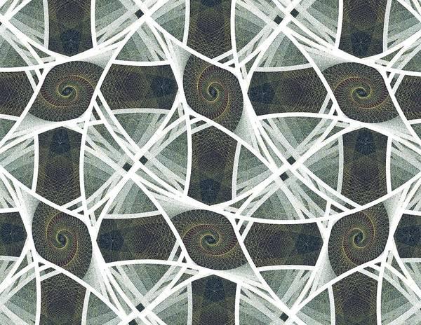 Netting Poster featuring the digital art Hammock by Anastasiya Malakhova