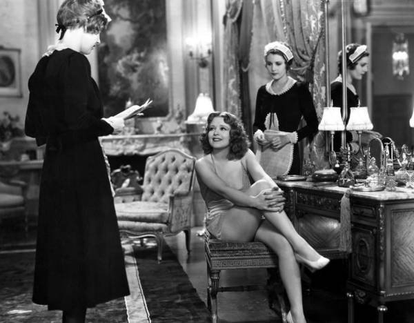 -women Nightgowns- Poster featuring the photograph Silent Still: Lingerie by Granger