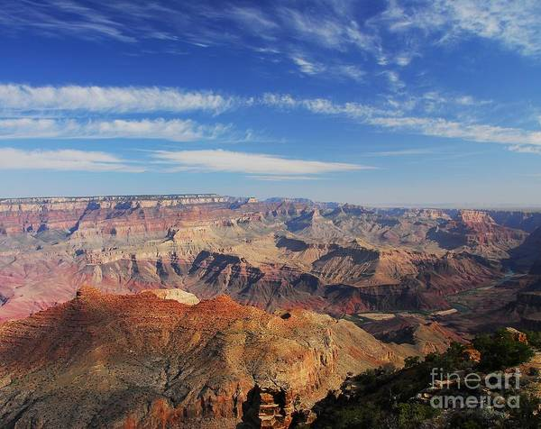 Canyon Colors Poster featuring the photograph Canyon Colors 1 by Mel Steinhauer