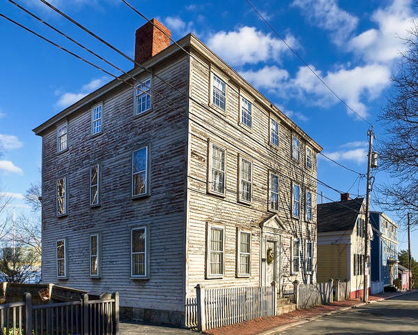 Salem Poster featuring the photograph Classic New England Architecture by Mark E Tisdale