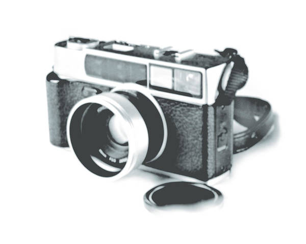 Rangefinder Poster featuring the photograph Favorite Camera by Robert Mollett