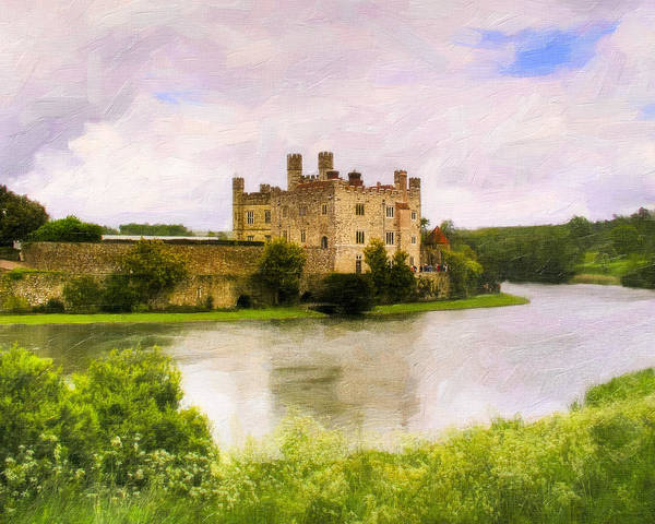 England Poster featuring the photograph Spring At Leeds Castle by Mark E Tisdale