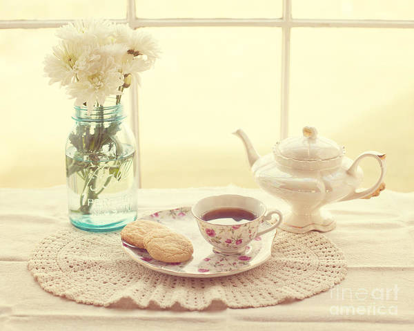 Tea Poster featuring the photograph Tea Time by Kay Pickens