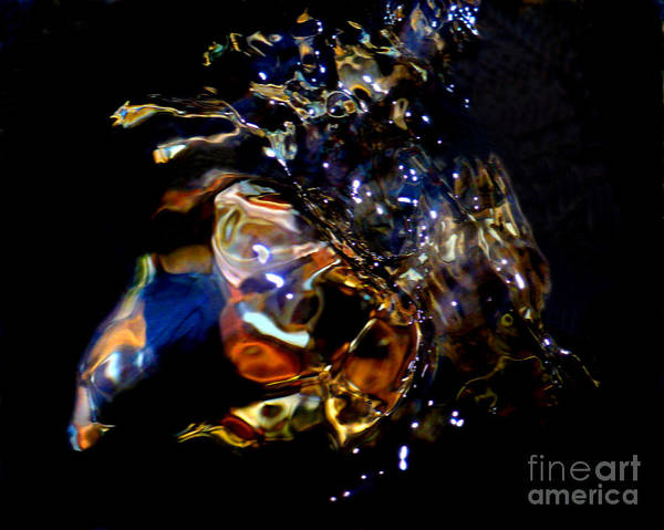 Abstract Poster featuring the photograph Crab Nebula by Terril Heilman