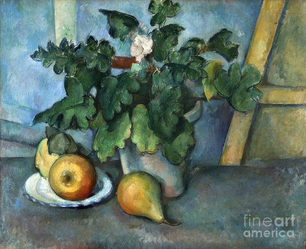 1890 Poster featuring the photograph Cezanne: Still Life, C1888 by Granger