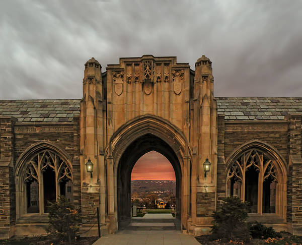 Cornell University Poster featuring the photograph Cornell University by Steven Michael