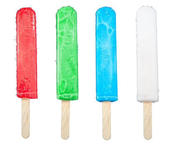 Popsicles Poster featuring the photograph Popsicle Collection by Joe Belanger