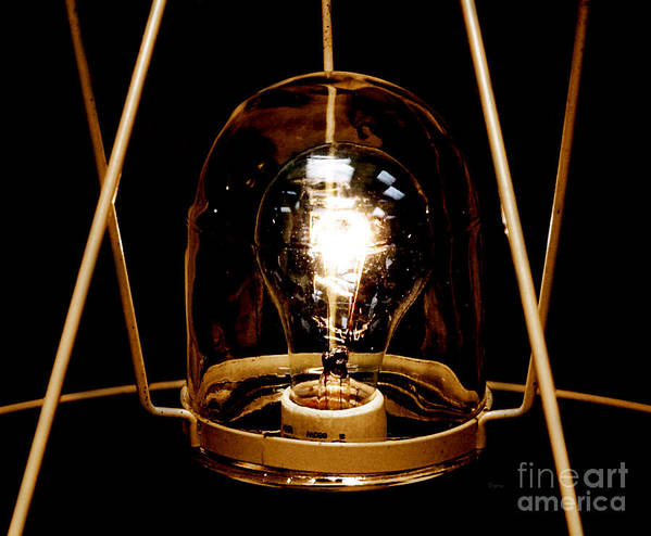 Light Poster featuring the photograph The Crystal Ball by Steven Digman