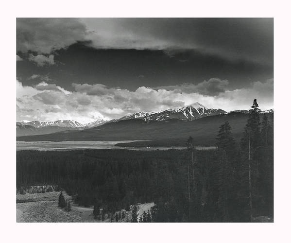 Landscape Poster featuring the photograph Homage To Ansel by Jim Furrer